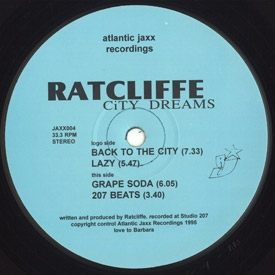 Ratcliffe - City Dreams EP